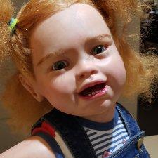 Солнечная Тифани - кукла реборн