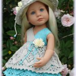 Обменяю вязаные наряды на кукол