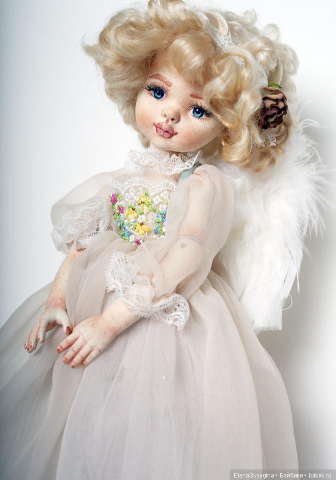 """игровая кукла """"Светочка"""", фаянс, 35см"""