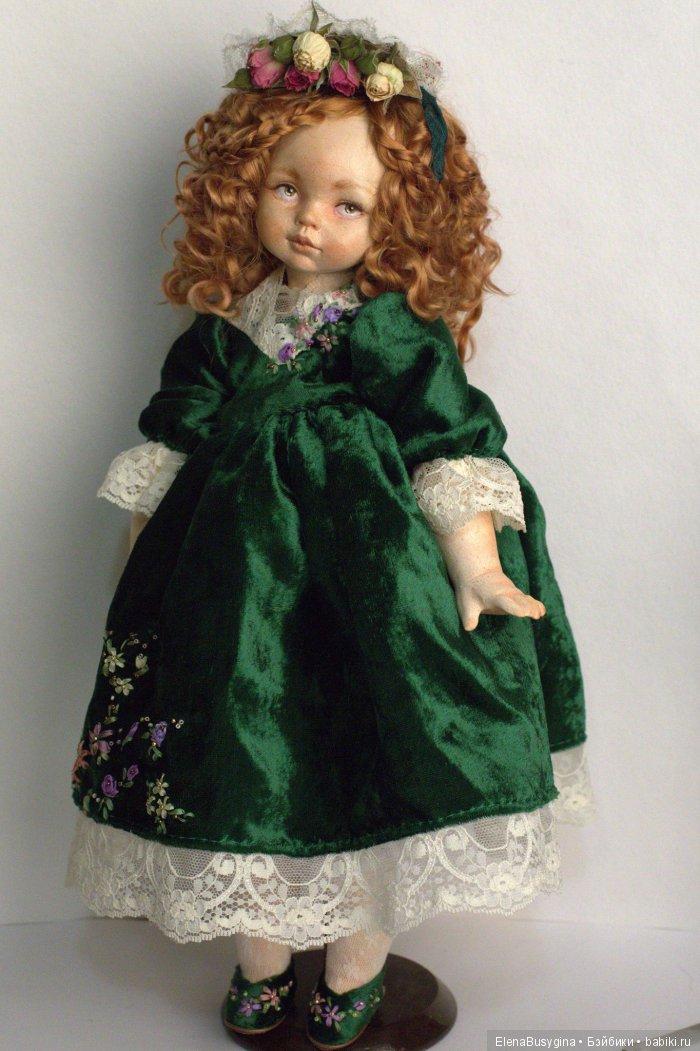 """игровая кукла """"Анна"""", фаянс, 35см"""