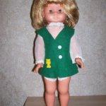 Кукла гдр 45 см