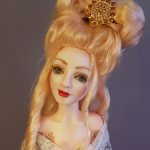 """""""Придворные тайны""""  - авторская кукла.Новогодняя стоимость -17000"""