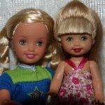 Сестренки Стейси и Келли от Маттель