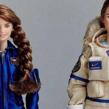 Российская женщина-космонавт Анна Кикина стала прототипом для куклы Барби
