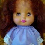 Кукла СССР, 42 см, с богатой прической