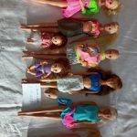 Разные куклы из 90х, Barbie, Wendy, Teresa, Настенька