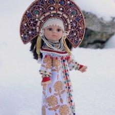 Авторский коллекционный костюм для куклы Paola Reina