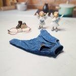 Джинсовые стильные брюки  для Блайз