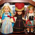 Винтажные куклы очень малюсенькие от 5 см до 9 см