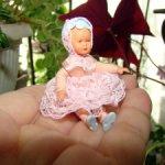 Мини кукла винтаж немецкой фирмы Како Канцлер