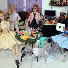 В кукольном кафе - баре