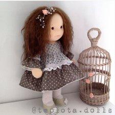 Waldorf inspired, вдохновение Вальдорфом. Куклы из ткани