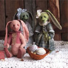 Мои весенние тедди-кролики