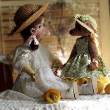 Соня + Соня. Леди носят шляпки