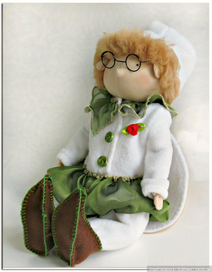 Шарнирная кукла Цветочный Гном