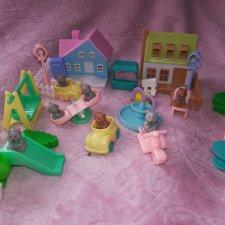 Набор городок мишек или части