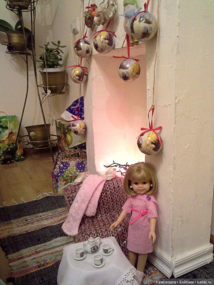 А бабушка сказала, что всё потому, что Клера была сегодня немного волшебницей для детей на Рождественском концерте. Поэтому чудеса приключились и с ней. И ещё сказала, что шарфик и ботиночки надо бы посушить.