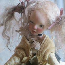 Адель. Авторская коллеционная кукла