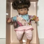 Кукла Gotz мини Маффин, брюнетка #7
