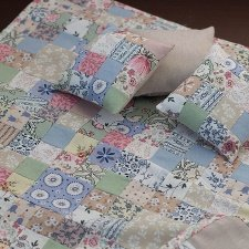 Лоскутное одеяло для кукол