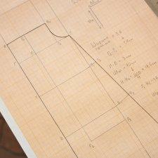 Построение выкройки с вырезом «Кармен»