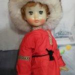 Кукла СССР Люба/Нина в образе мальчишки