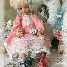 Коллекционные текстильные куклы