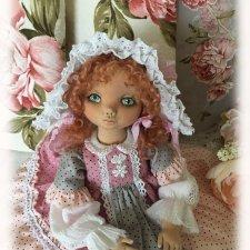 Симочка, коллекционная авторская текстильная кукла