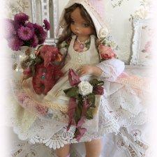 Коллекционная, текстильная кукла