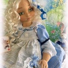 Алиса в стране чудес. Коллекционная авторская кукла
