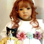 Лилиана, нежная наивная девчушка от Аннет Химштедт.
