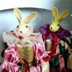 Шикарная  пара  кролов