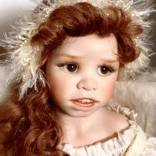 Рождественский ангел Гретель от Сьюзан Крей