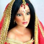 Фарфоровая индийская невеста.