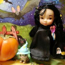 Кукольный Хэллоуин в деталях