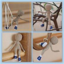 Каркасные вязанные куклы крючком