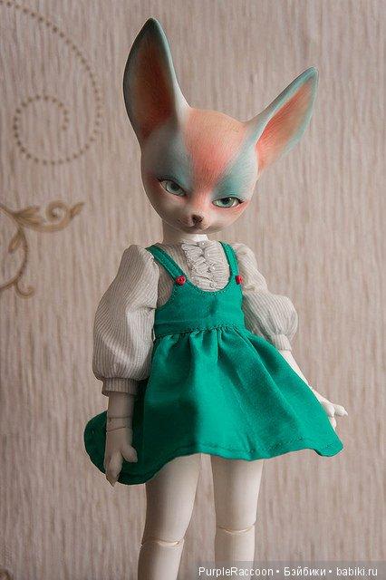 Сарафан и блузка для маленькой хитрой модницы