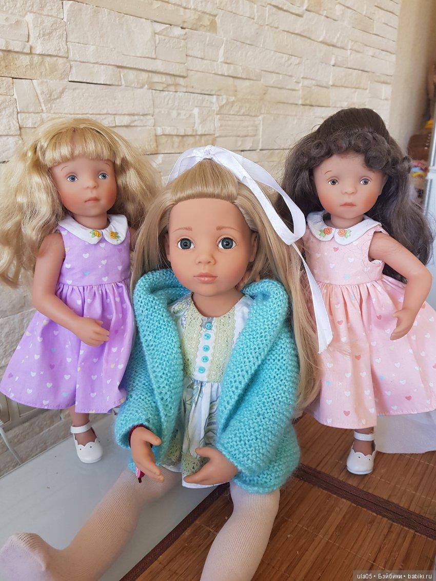 Машенька и младшие сестрёнки Анечка и Жози