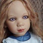 Красавица Крисси-1,коллекционная кукла от Annette Himstedt