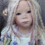 Лапушка Лунночка,коллекционная кукла Lunna Annette Himstedt