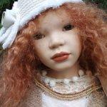 Несравненная солнечная Марта, коллекционная кукла от Zawieruszynski