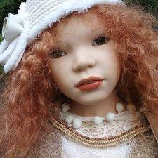 До 30 июня 35000 с доставкой! Несравненная солнечная Марта, коллекционная кукла от Zawieruszynski