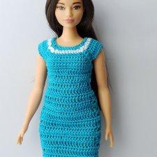 Распродажа платьев для Барби Curvy