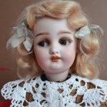 Очаровательная флиртующая Мэрилин, Simon & Halbig 1039, 14 дюймов