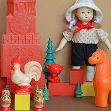 Кремлевская выставка достижений игрушечного хозяйства
