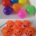 Пляжные мячики для кукол, тыквы-корзинки