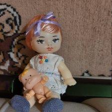 Маленькая винтажная симпатяга-куколка из Киева (Победа)