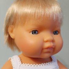 мальчик блондин Miniland