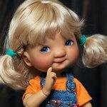 Meadow dolls Patti tan