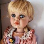 кукла   Hannah от Jan Mclean